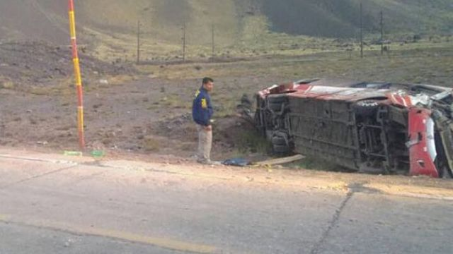 Accidente en Chile