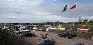 Frontera de Venezuela y Brasil