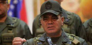 Padrino López, Ministro de Defensa