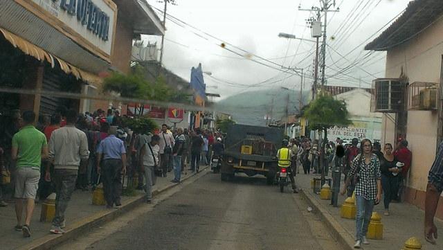 Calle Los Ilustres Próceres de Altagracia de Orituco.  Foto: Amanda Saldivia