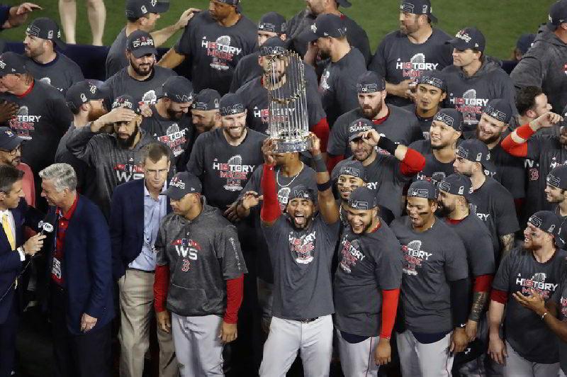 Medias Rojas de Boston campeones de la Serie Mundial