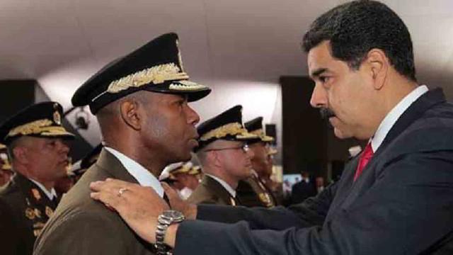 Cristopher Figuera y Nicolás Maduro