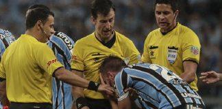 Gremio tras perder la semifinal de la Copa Libertadores ante River Plate