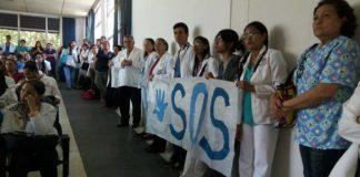 Médicos del Hospital Central de Maracay