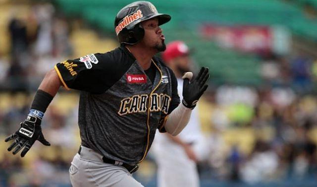 Jugador de los Leones del Caracas