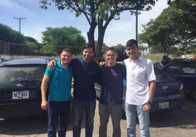 """Liberaron a cuatro militares implicados en el """"Golpe Azul"""""""