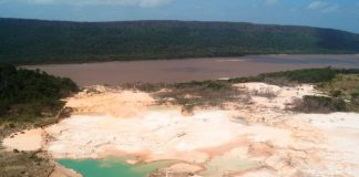 Parque Nacional Canaima, minería ilegal