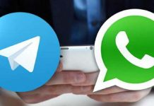 Telegram y WhatsApp