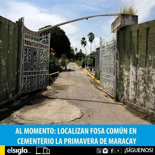 Cicpc halló 18 cadáveres abandonados en un cementerio de Aragua