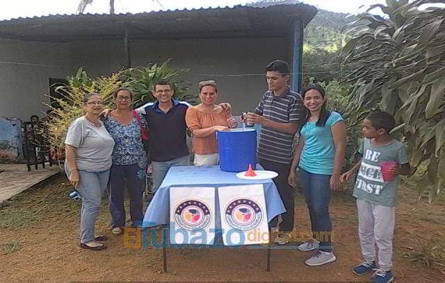 vaso solidario en san juan de los morros