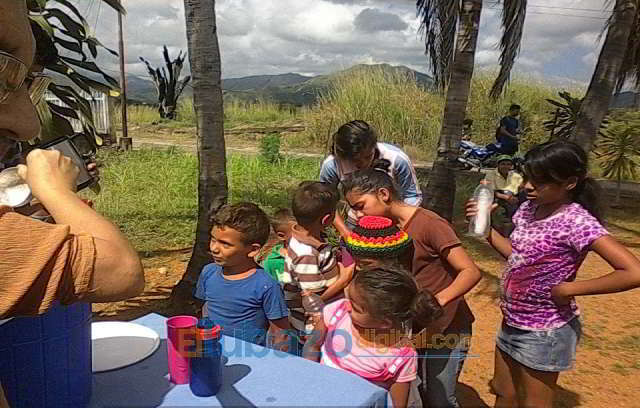 vaso solidario en san juan de los morros- guarico