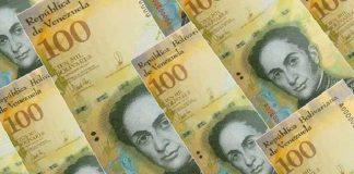 Billetes de 100 mil