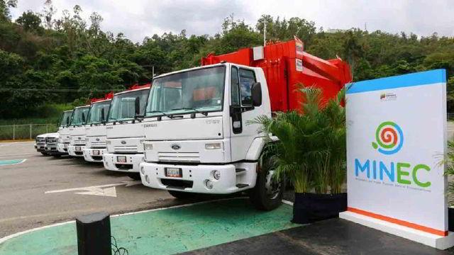 Camiones de basura