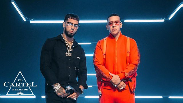 Daddy Yankee con Anuel