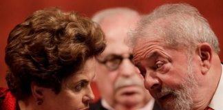 Dilma Rousseff y Lula da Silva