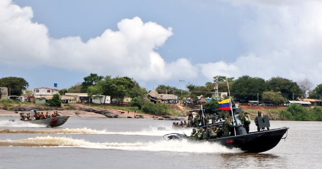 Despliegue militar en frontera de Amazonas