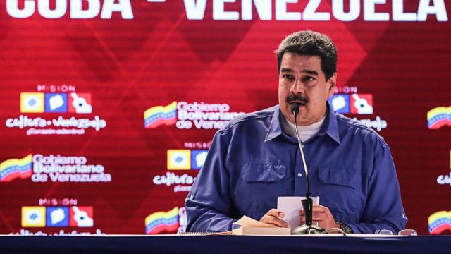 Nicolás Maduro, presidente de la República