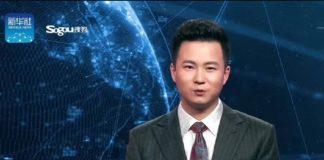 Noticiero presentado por robot en China