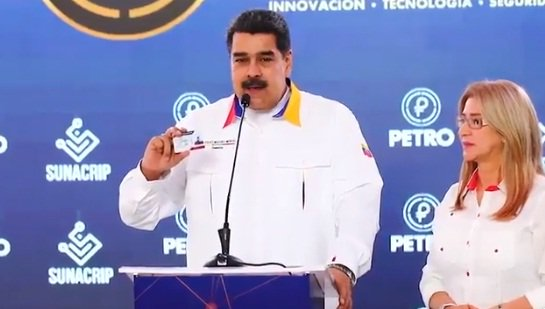 Petro, carnet de la patria