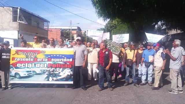 Protesta en Maracay