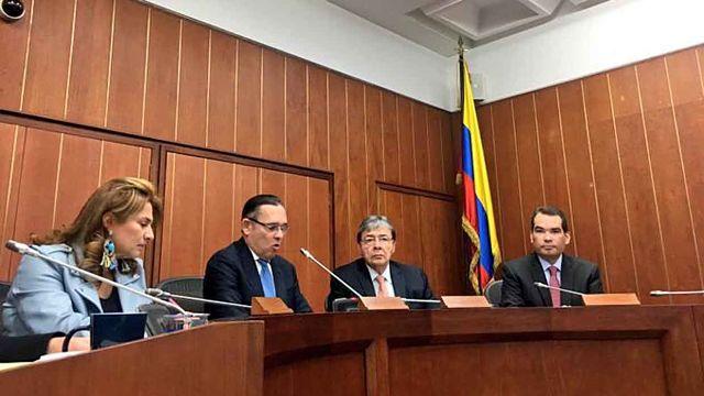 Tomás Guanipa, senado colombiano