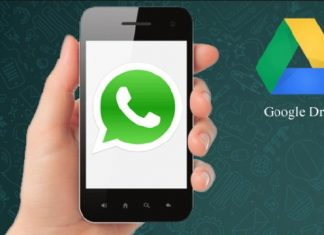 WhatsApp-Google Drive