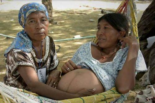 embarazo entre indigenas venezolanas parto y costumbre