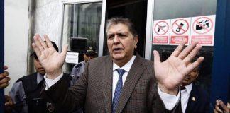 Alán García, expresidente de Perú