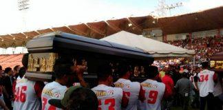 Homenaje a Valbuena y Castillo