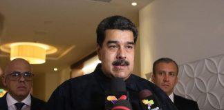 Nicolás Maduro. presidente de la República