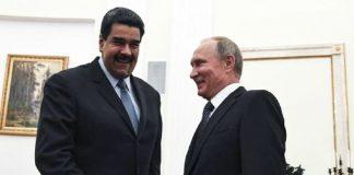 Reunión de Maduro y Putin