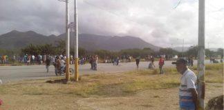 Protesta en Nueva Esparta