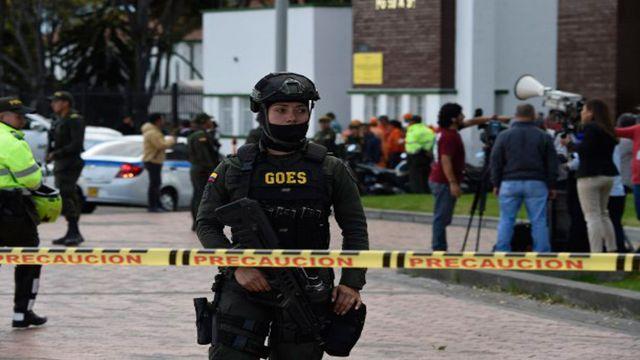 Atentado en Bogotá, Colombia