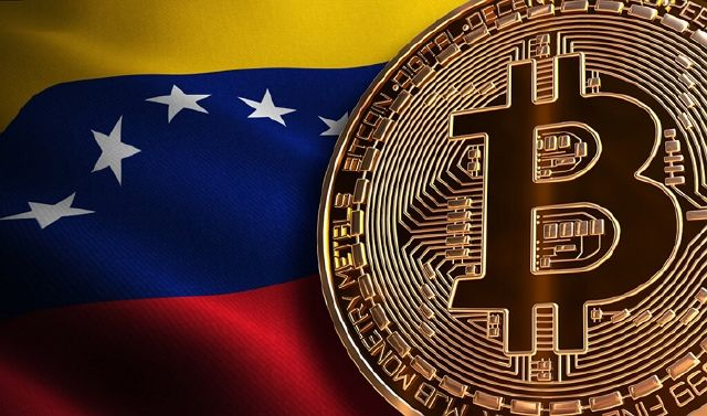 Cajero de Bitcoin en Venezuela