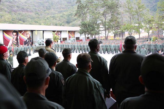 Maduro y las fuerzas militares