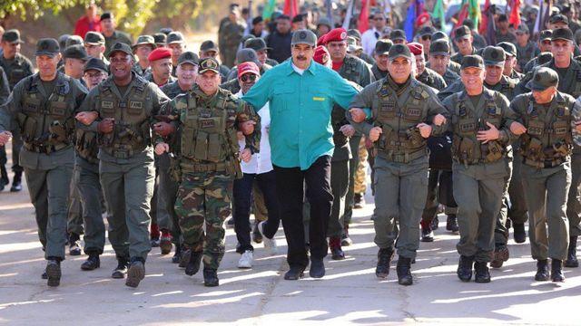 Maduro y la Fanb