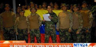 Presuntos militares venezolanos en Colombia