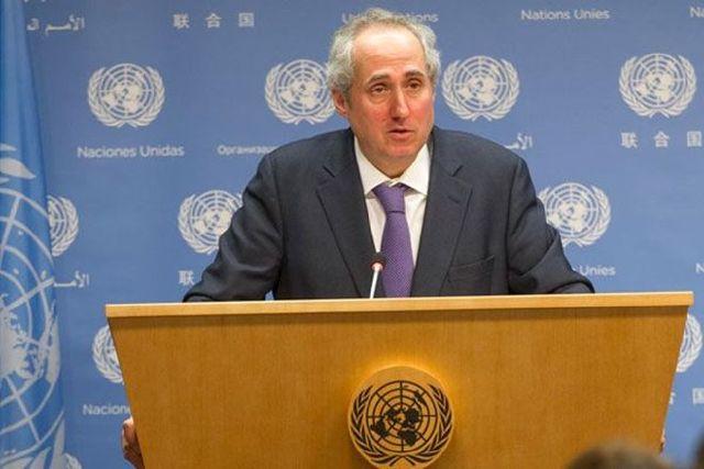 Stéphane Dujarric, portavoz de la ONU
