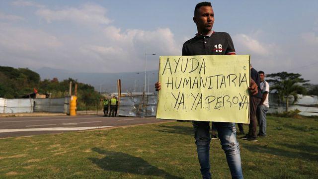 Solicitud de ayuda humanitaria