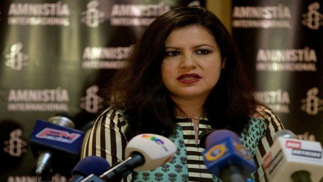 Erika Guevara, Amnistía Internacional