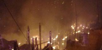Incendio en Barrio San Isidro