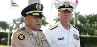 Luis Navarro Jiménez y Craig Faller en conferencia en Miami.