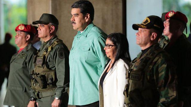Maduro, Delcy Rodríguez, Fanb