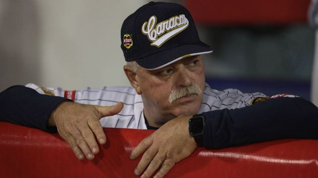 Mike Rojas, Manager de los Leones del Caracas