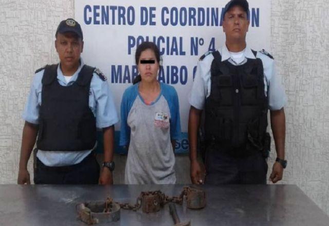 Mujer detenida