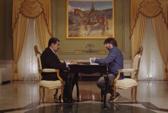 Nicolás Maduro y Jordi Évole