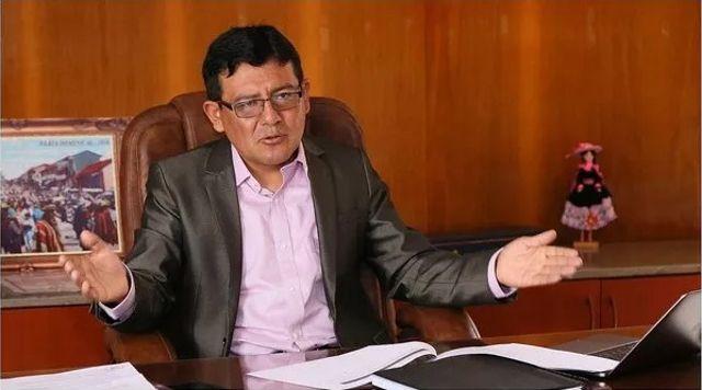 Alcalde de Huancayo, Perú