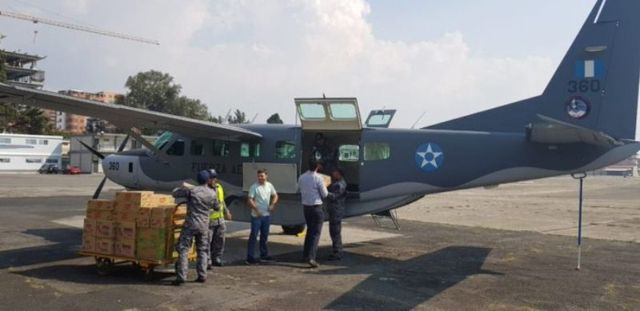 Ayuda humanitaria desde Guatemala