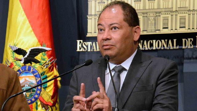 Carlos Romero, Ministro de Bolivia