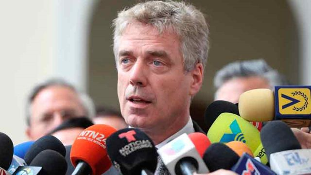 Daniel Kriener, embajador de Alemania